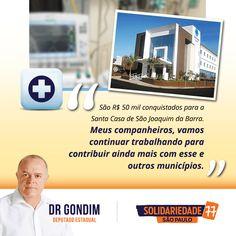 Junto com o ex-verador Dudu Fortes (PPS) e as lideranças políticas de São Joaquim da Barra, estou conseguindo ajudar o município. #FichaLimpa #77000 #DrGondim #votedrgondim77000 #Social