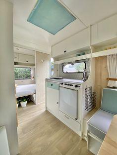 Caravan Decor, Camper Caravan, Camper Van, Caravan Makeover, Caravan Renovation, Smart Storage, Vintage Trailers, Tiny Living, Van Life