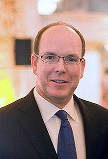 Albert II, Sovereign Prince of Monaco (Albert Alexandre Louis Pierre Grimaldi; born 14 March 1958), is the head of the House of Grimaldi and the ruler of the Principality of Monaco. He is the son of Rainier III, Prince of Monaco, and the American actress Grace Kelly. His sisters are Hereditary Princess Caroline and Princess Stéphanie of Monaco. In July 2011, Prince Albert married Charlene Lynette Wittstock, now Princess Charlene. Prince Albert is one of the wealthiest royals in the world.