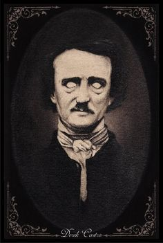 Movie Posters Discover Edgar Allan Poe by Derek-Castro on DeviantArt Edgar Allan Poe by Derek-Castro Edgar Allan Poe, Edgar Allen Poe Tattoo, Interracial Art, Arte Punk, Spooky Tattoos, Bullet Art, Beautiful Dark Art, Arte Horror, Art Prints