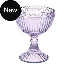Gorgeous colour! Marimekko glass 'Maribowl' [Mariskooli] by iittala in lavender <br />