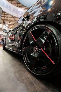 Borbet A Felge - Neu 2017 - Auf der Essen Motor Show (4) black red glossy- Golf 7 GTI