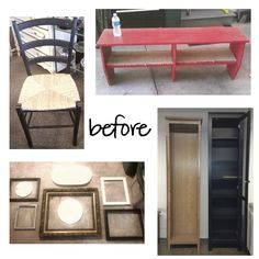 Revamp old furniture for budget-friendly style! See what these pieces look like post-makeover on Style Spotters: http://www.bhg.com/blogs/better-homes-and-gardens-style-blog/2013/03/15/behind-the-scenes-kitchen-bath-makeovers/?socsrc=bhgpin040213beforeandafter