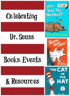 Awesome list of Dr. Seuss resources and activities!