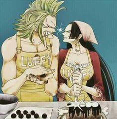 Quem ama mais o Luffy-Sanpai?! ( Adorei a carne com chocolate!! )