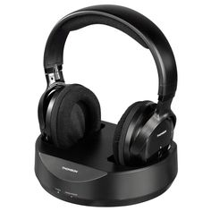 Thomson Over-ear Funk Kopfhörer Schwarz Wireless Headphones For Tv, Best Headphones, Music Headphones, Over Ear Headphones, Logitech, Pll, Sony, Computer Gadgets, Laptop Accessories