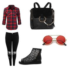 """""""set21"""" by ingulik2005 ❤ liked on Polyvore featuring Doublju, Boohoo and Chloé"""