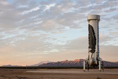 blue origin's reusable new shepard rocket booster successfully lands in west texas