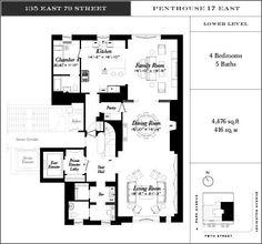 135 East 79th Street penthouse 17 east lower level