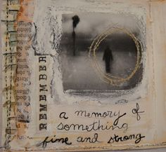 art journal page by curiouserdesign, via Flickr