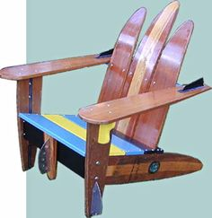 Waterski Adirondack Chair