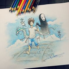 Artist: Itsbirdy | Spirited Away