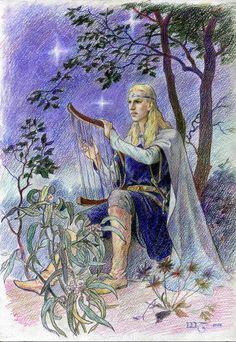 Noldor on Elves-of-Tolkien - DeviantArt History Of Middle Earth, Glorfindel, Elf Art, Character Sketches, Historical Art, The Hobbit, Fantasy Art, Illustration Art, Illustrations