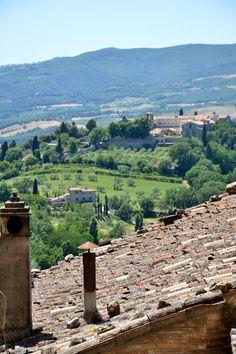 Todi, Italy Perugia Umbria: