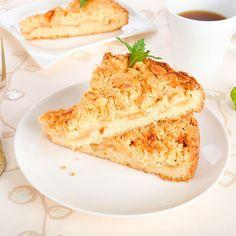 Flan croustillant aux palets bretons et aux amandes Palet Breton, Almond Recipes, Hummus, French Toast, Breakfast, Ethnic Recipes, Food, Desserts Faciles, Muffins