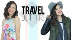 4 Outfits for Airplane Travel!