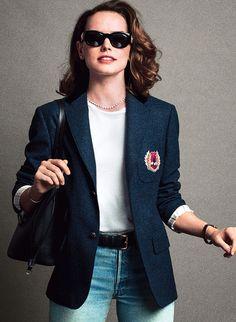Daisy Ridley photographed by Inez & Vinoodh for V Magazine