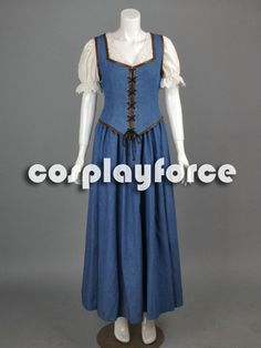 Hey, I found this really awesome Etsy listing at https://www.etsy.com/listing/181806970/once-upon-a-time-belle-dress-cosplay