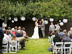 Love The Idea Of A Small Backyard Wedding.