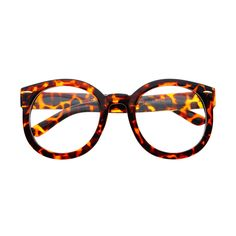 b677737e91b91 Vintage Retro Style Clear Lens Oversized Round Glasses Frames R21