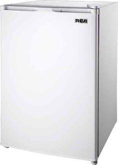 Best Dorm Room Refrigerators- RCA RFR440 Fridge 4.5 Cubic Feet, White (click for Top 5 List)