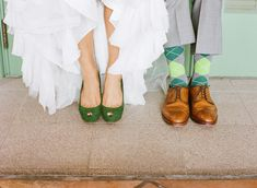 Great Shoe Shot ;) http://stylemepretty.com/florida-weddings/2012/03/28/museum-of-fine-arts-wedding-by-hype-group/  Photography by ginaleighphotography.com