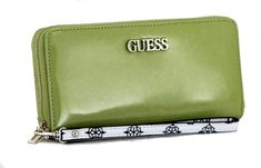 Portmonaire Guess South Bay SLG Lime Handschlaufe Slg, Zip Around Wallet, Lime, Pocket Wallet, Artificial Leather, Sachets, Bags, Limes, Key Lime