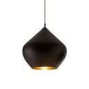 Iluminación general-…de latón-Lámparas de suspensión-Beat Stout Black-Tom Dixon