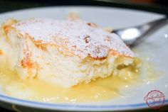 super easy lemon pudding cake recipe