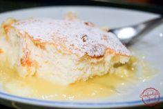 comfortable food - super easy lemon pudding cake recipe