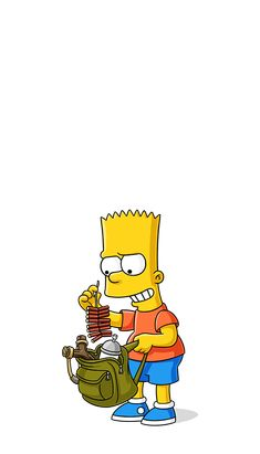 Bart Simpson New Horizons Android Dope Cartoon Art, Dope Cartoons, Bart Simpson, Futurama, The Simpsons, Simpson Tumblr, Los Simsons, Animated Cartoon Movies, Simpsons Drawings