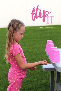 18 activités simples mais marrantes avec des gobelets en plastique