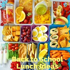 Kids Back to School Lunch Ideas. A list of healthy school lunch ideas for kids. Lunchbox ideas that are healthy and delicious. www.modernhoney.com