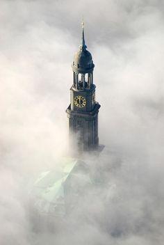 St. Michaelis Church, the Distinctive Landmark in Hamburg, Germany    www.facebook.com/loveswish