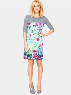 Fearne Cotton Print Skirt Dress | Very.co.uk