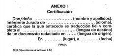 Manual de traducción jurada (3): la certificación, firma y sello  | Blog de Leon Hunter