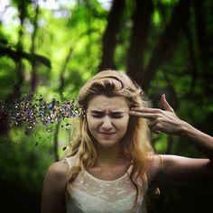 Photos Hub: 11 Breathtaking Surreal Self Portraits By 20 Year Old Rachel Baran