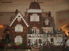 The gingerbread house at the Grand Floridian Resort by EmilyGracey, via Flickr