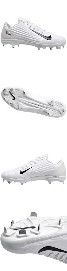 more photos ef851 6a7e9 Mens 159059  New Nike Lunar Vapor Pro Low Metal Mens Baseball Cleats    White -  BUY IT NOW ONLY   32.8 on eBay!