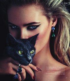 fabfashionfix:  Julia Ivanyuk for Rabat Jewelry Magazine Fall 2013
