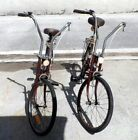 TWO! Vintage Sears & Robuck Free Spirit Folding Bikes, Steel Frame, Unisex - $99.00 - http://www.carbonframebikes.com/us/Sears-Free-Spirit-Bike.html