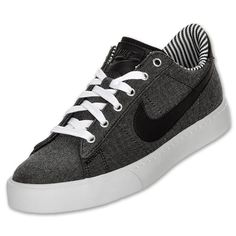 Nike Sweet Classic Premium Men's Casual Shoes | FinishLine.com | Black/White/Black