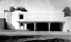 Alejandro Caso y Margarita Chávez: casa Lombardo [Fuego 405], Jardines del Pedregal, México D.F., 1967