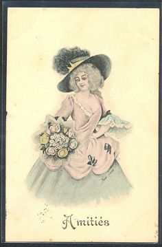 US $7.99 Used in Collectibles, Postcards, Artist Signed: