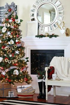 60+ Christmas Tree Decorating Ideas - How to Decorate a Christmas Tree