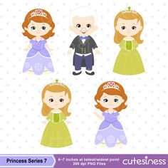 Princess Series 7 Digital Clipart : 16 Graphics ----------------------- ★★ Package Included ★★----------------------------------- *You will received a total of 16 Files in PNG Format with TRANSPARENT background, Size of 6~7 Inches at tallest/widest point of 300 DPI resolution. * 6