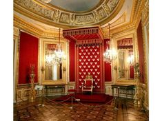 Throne Room, Royal Castle, Warsaw, Poland