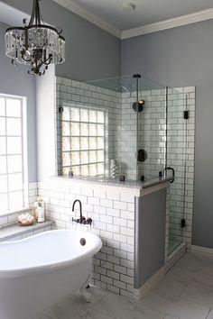 Kids Bathroom Remodelour Design Pinterest Bath Shower Wood - Bathroom remodel humble tx