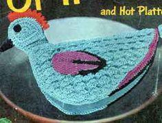 Chicken Potholder Pattern | Crochet Patterns