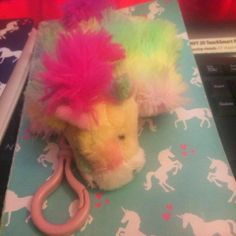 Rainbow Unicorn Poucheez